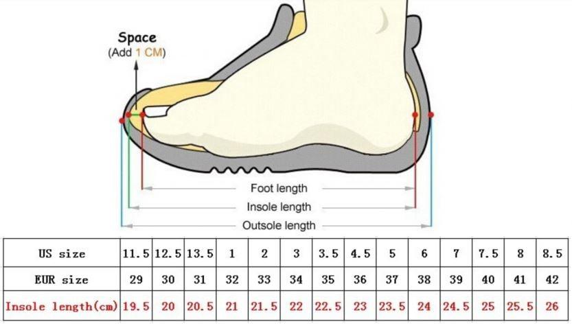 numeri scarpe nike in cm