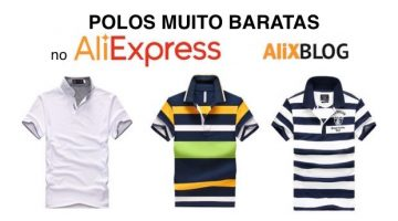 Polos baratas no AliExpress: alternativas chinesas à Tommy Hilfiger, Lacoste, Ralph Lauren…
