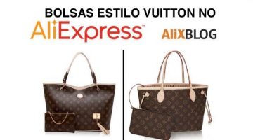 Bolsas chinesas estilo Louis Vuitton baratos no AliExpress – Novos truques!