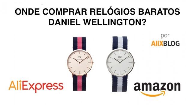 cbd85371f5b Relógios Daniel Wellington Baratos no AliExpress - 2019