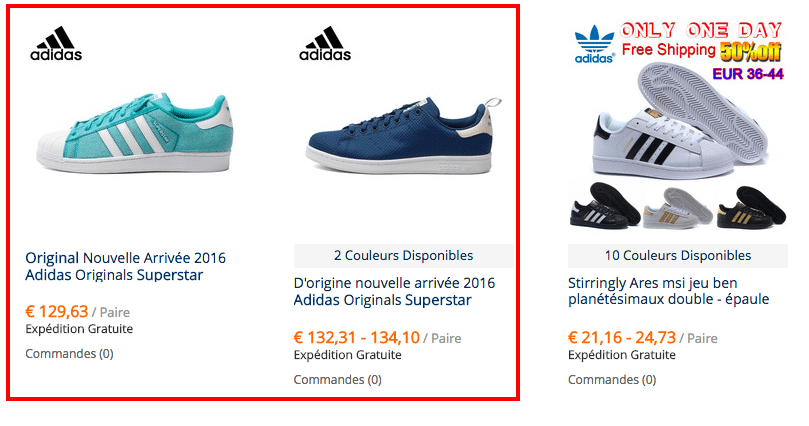 Baskets Adidas Superstar bon marché sur AliExpress