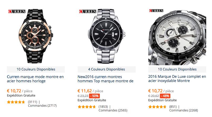 Curren watches FR