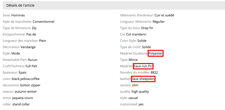 Detalle producto belstaf FR