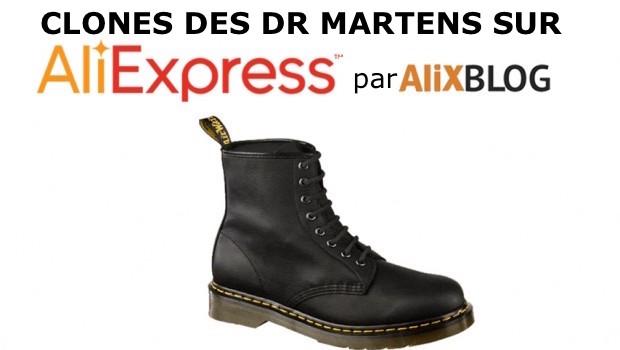 Dr Martens sur AliExpress