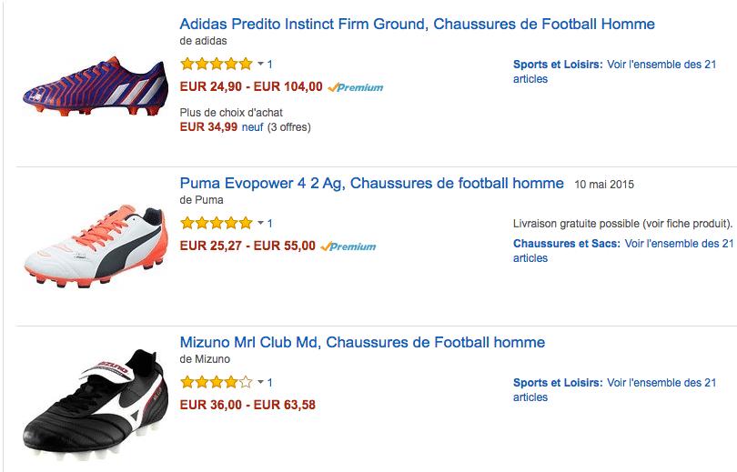 Futbol shoes FR