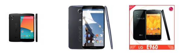 modelli tablet e cellulari disponibili google nexus