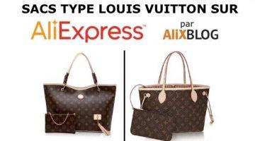 Sacs chinois type Louis Vuitton au meilleur prix sur AliExpress – Nouvelles astuces!