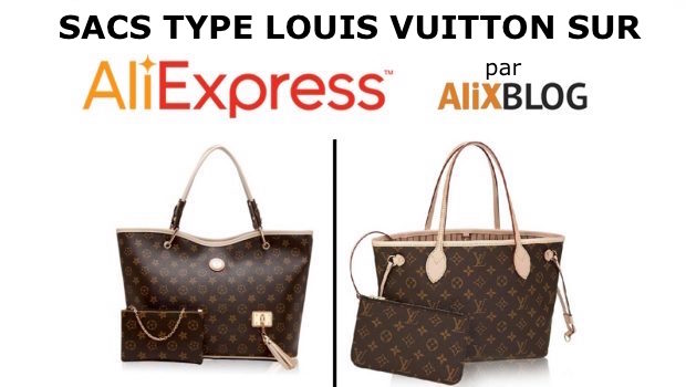 Sacs chinois type Louis Vuitton sur AliExpress d913e3679db