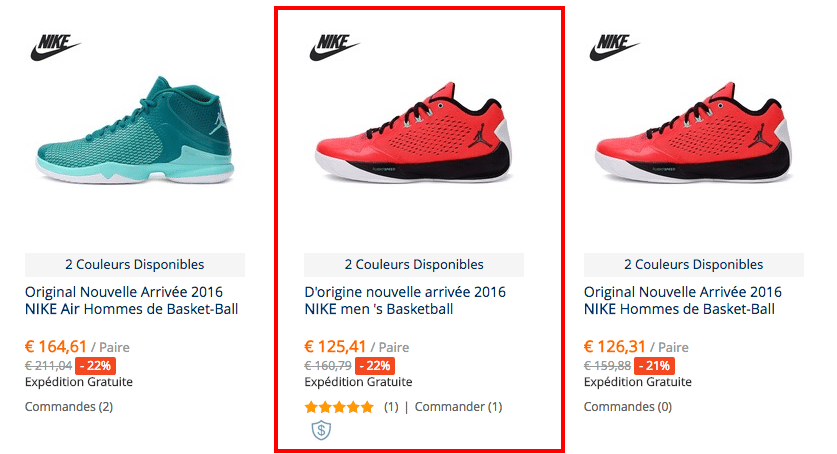 Nike jordan original FR