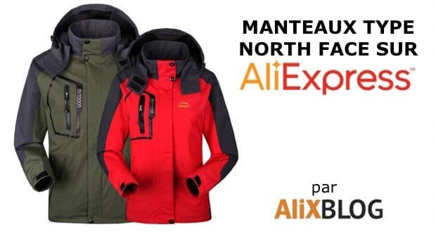North Face sur AliExpress