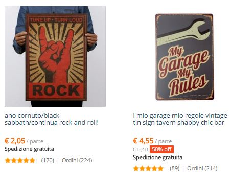 metal posters rock garage cool aliexpress