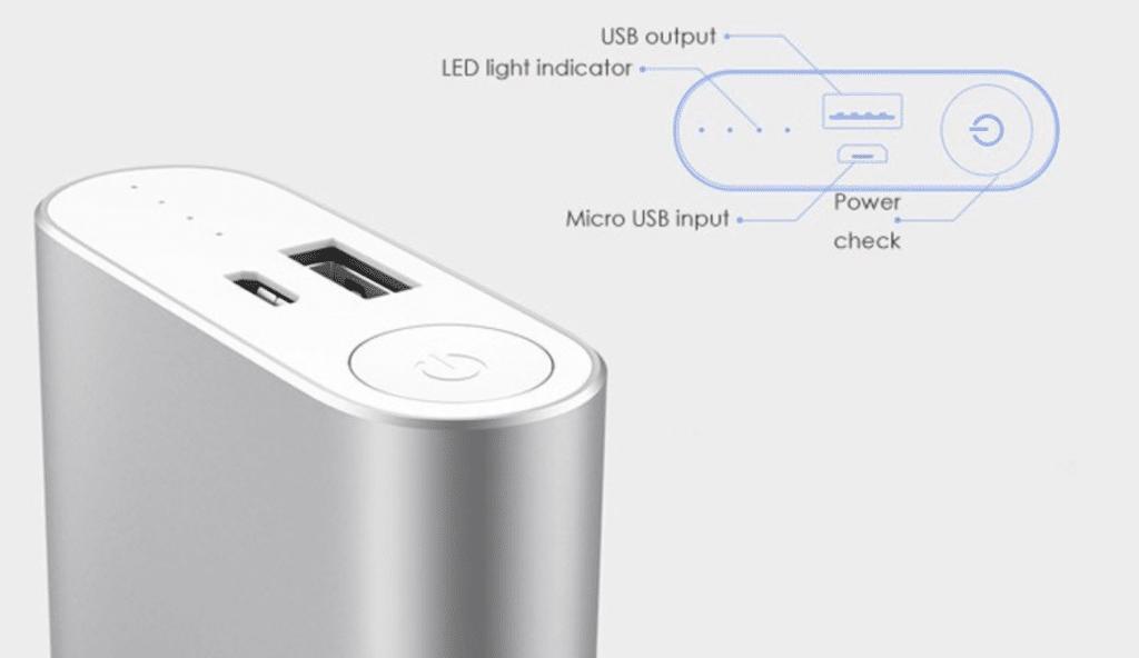 Xiaomi Mi Power Bank en Aliexpress barato