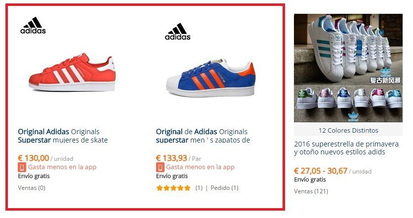 adidas superstar niña aliexpress
