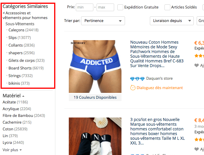 categories boxers FRA