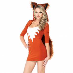 costume sexy volpe donna