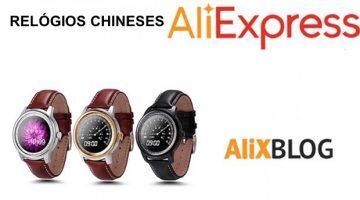 Marcas chinesas de relógios no AliExpress: uma alternativa barata para réplicas