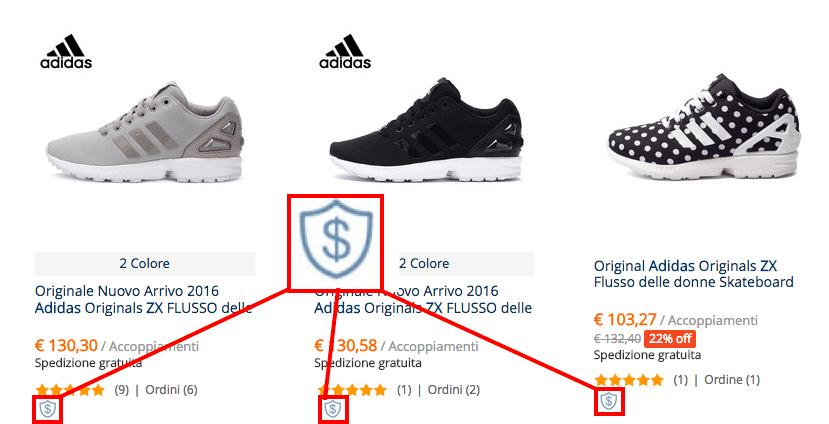 adidas zx flux scontate