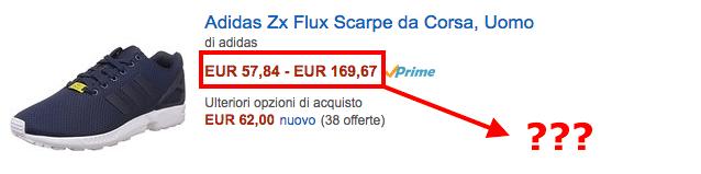 Adidas flux amazon price IT