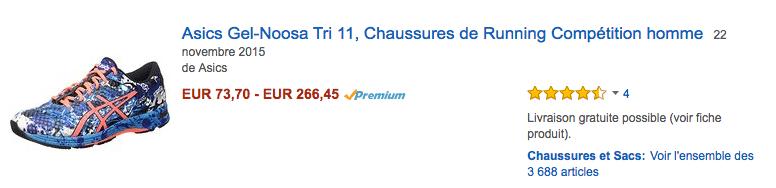 Amazon asics FRA