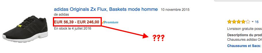 Amazon flux price FRA
