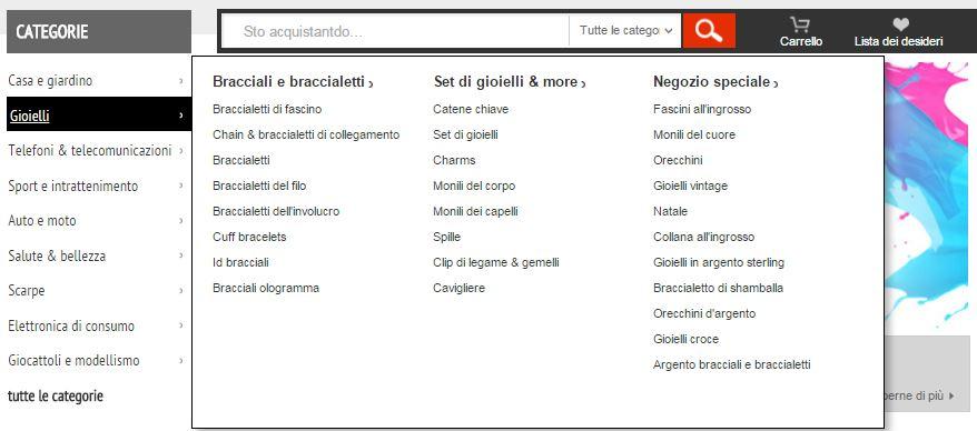 versione italiana aliexpress