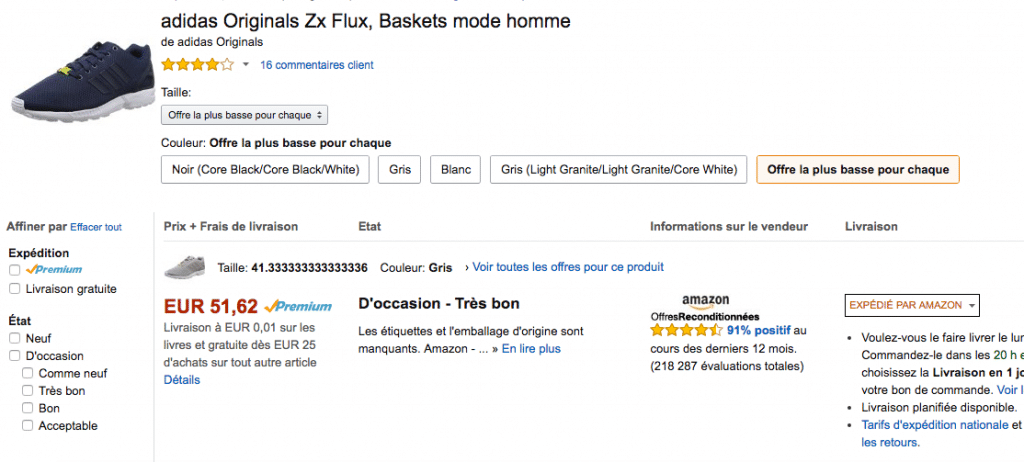 amazon low offer adidas FRA