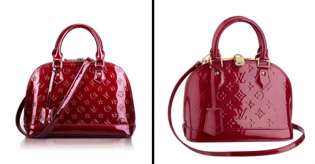 Bolsos Louis Vuitton Alma Vernis de imitacion