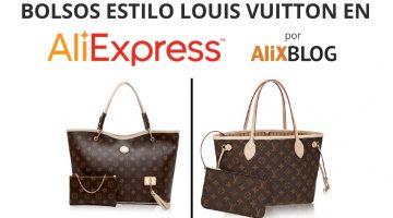 Bolsos chinos estilo Louis Vuitton baratos en AliExpress – NUEVOS TRUCOS!