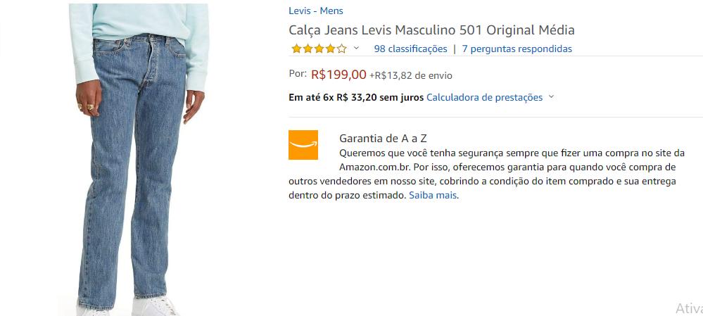 calça-jeans-levis-amazon
