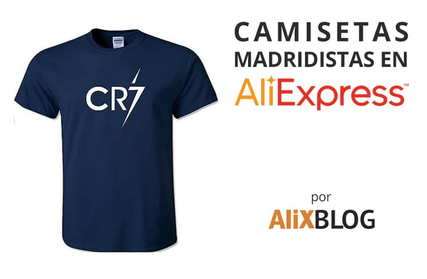 Camisetas Real Madrid en AliExpress