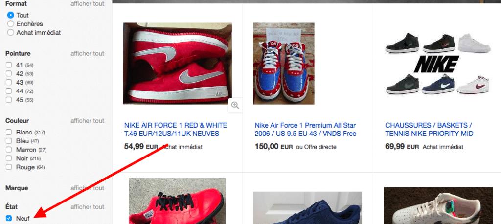 ebay force fr