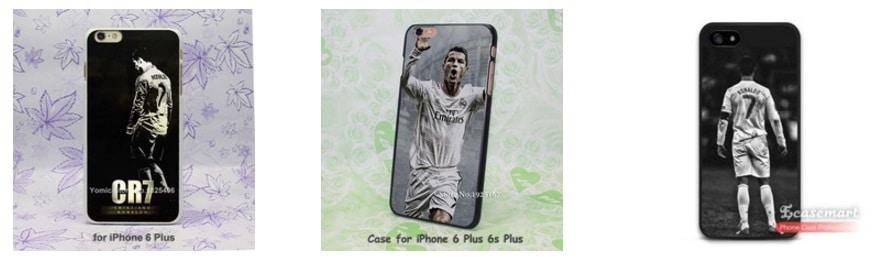 Fundas de móviles Real Madrid Cristiano