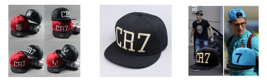 Gorras de CR7 AliExpress