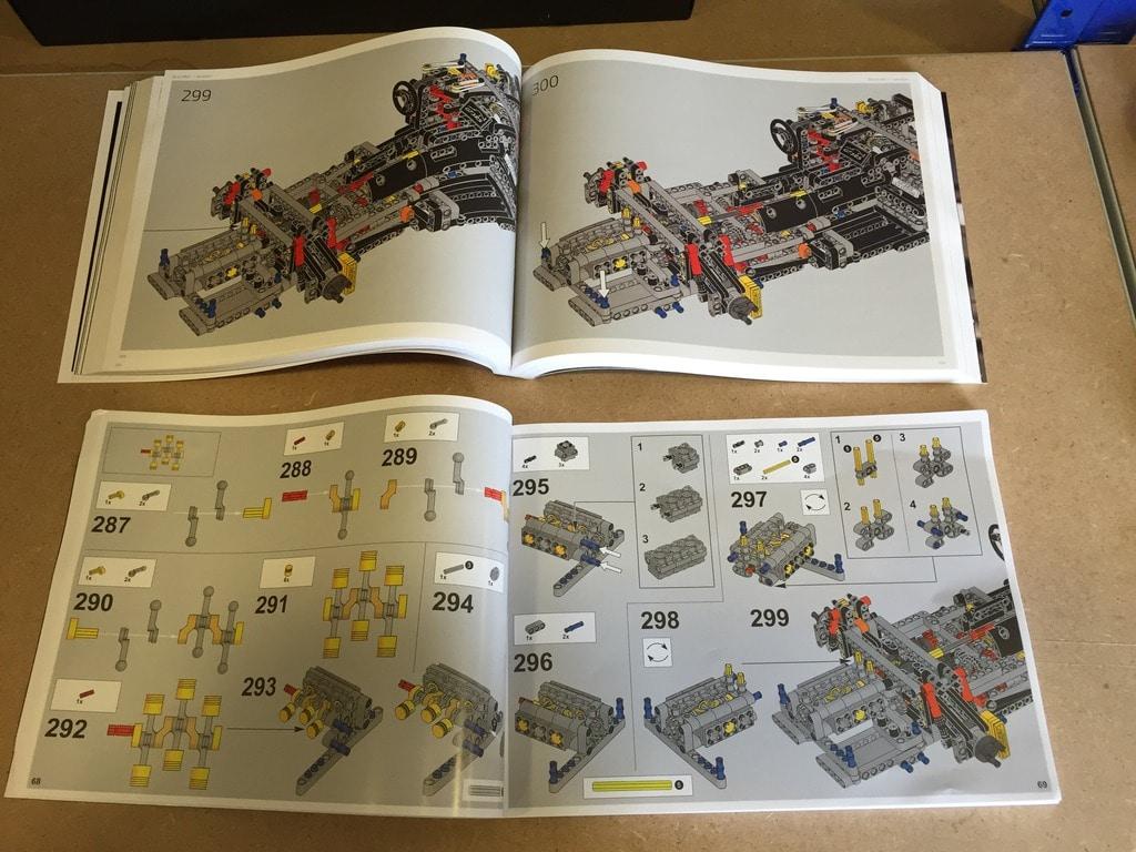 manual de instrução lego