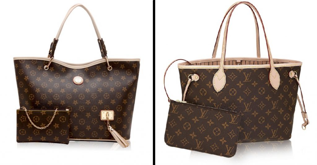 Bolsos estilo Louis Vuitton Neverfull. Bolsos Neverfull baratos