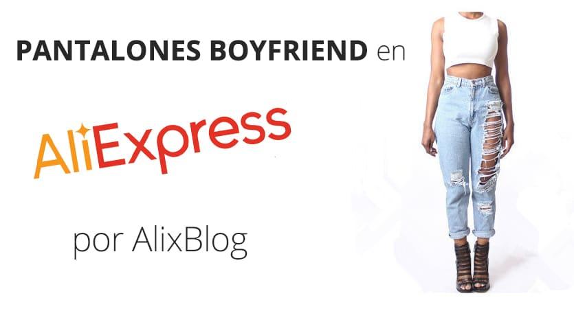 Pantalones Comprar Baratos Boyfriend Aliexpress Vaqueros Cómo En P80qHw
