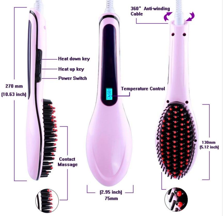Cepillo electrico para cabello precio guatemala