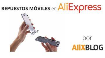 Repuestos para teléfonos móviles en AliExpress: pantallas táctiles, LCD, piezas para iPhone, Samsung y otras marcas