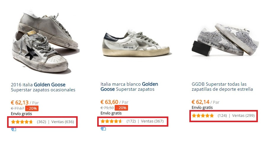 Zapatillas Golden Goose muy baratitas