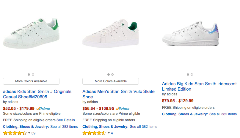 Adidas stan smith amazon good