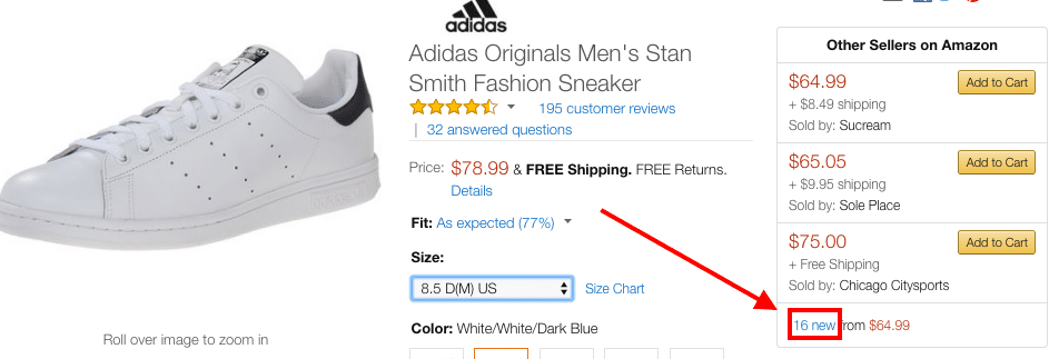 Amazon stan smith new