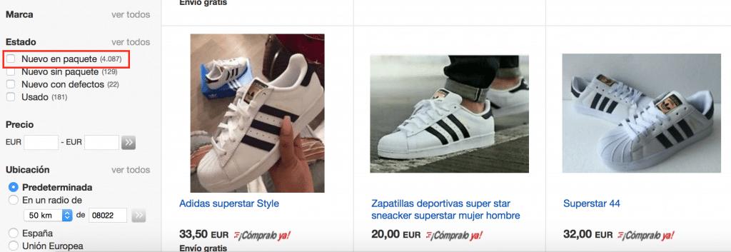 Comprar adidas superstar en ebay baratas y de buena calidad