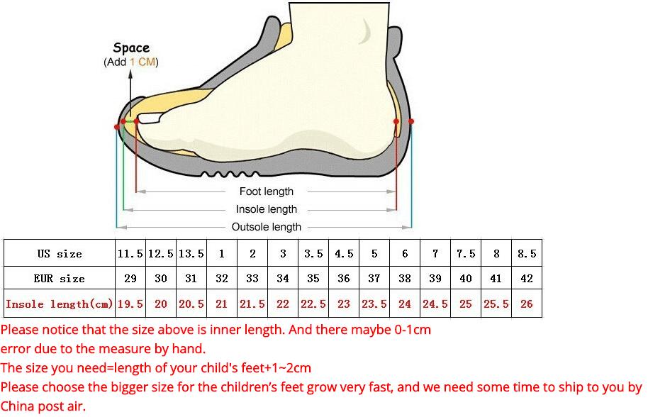 Size Heelys