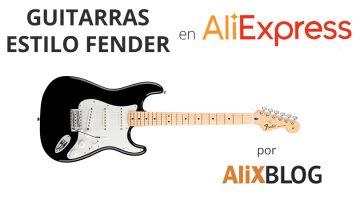 Guide pour acheter des guitares bon marché dans le style Fender sur AliExpress