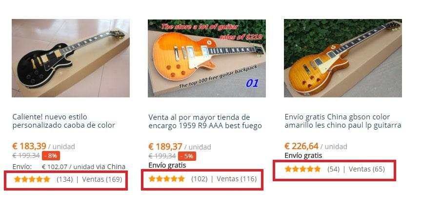 Guitarras Gibson Les Paul baratas