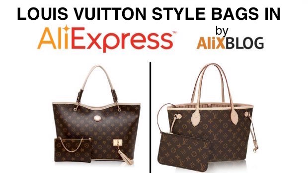 5f1231cb5220 Louis Vuitton style bags in AliExpress - Buying tricks 2019