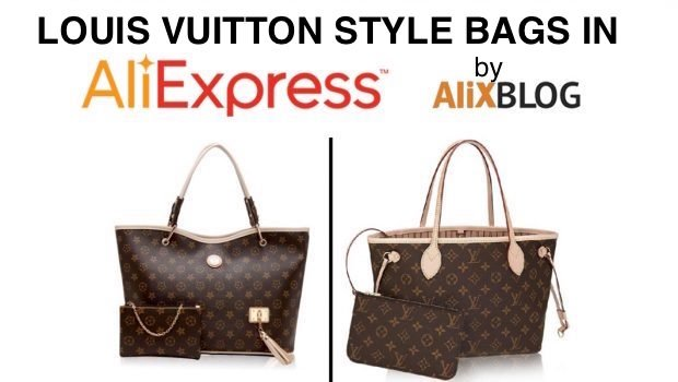 a398c16d0b72 Louis Vuitton style bags in AliExpress - Buying tricks 2019