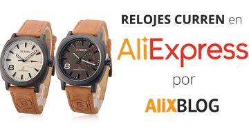 Comprando Relojes Curren en AliExpress: Opiniones, Precios y Modelos