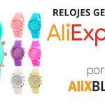 Comprando relojes Geneva para mujer y para hombre en AliExpress
