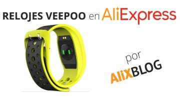 Pulseras y Relojes inteligentes Veepoo – Guía de compra 2016